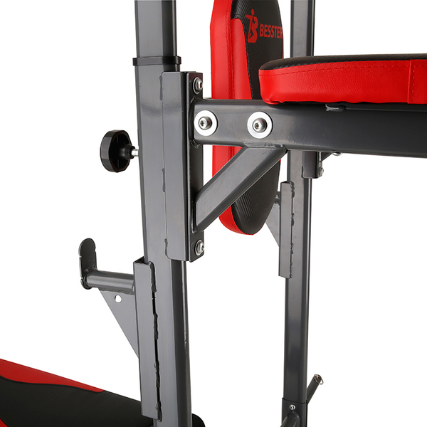 High with flat round tube pull-up JS-082