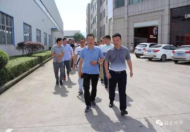 【晨龍鋸床】熱烈歡迎寧波方太集團黨員干部蒞臨參觀交流
