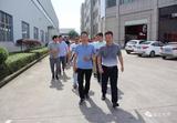 【晨龙锯床】热烈欢迎宁波方太集团党员干部莅临参观交流