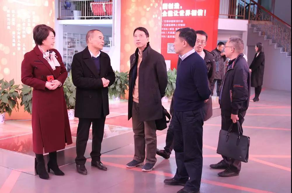 省知识产权局专利管理处处长丁峥嵘一行莅临公司考察指导!