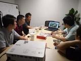 杭州市經信局技術創新處赴晨龍智能公司調研人工智能工作開展情況