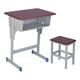 專利鐵皮包邊麵課桌椅-FX-0100