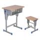 专利铁皮包边面课桌椅-FX-0096