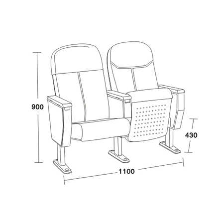 软座椅系列-FX-1338