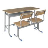 双人课桌椅 -FX-0258