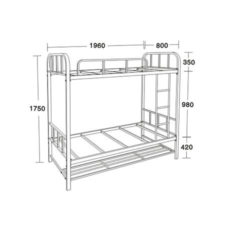 公寓床/學生床係列-FX-7380