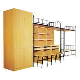公寓床/學生床係列 -FX-7600