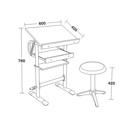 美術桌閱覽桌係列-FX-5128