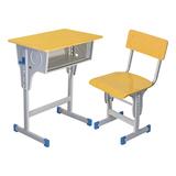 多层板面课桌椅 -FX-0075