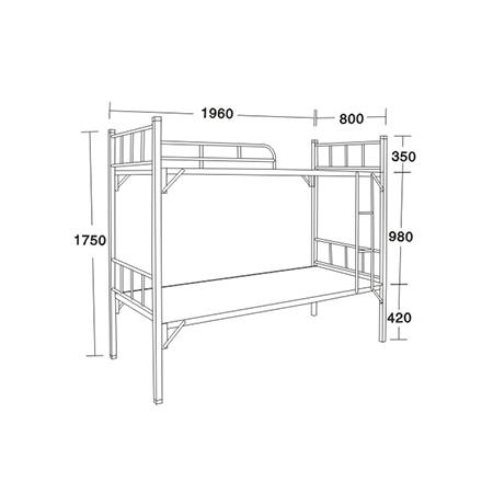 公寓床/学生床系列-FX-7195