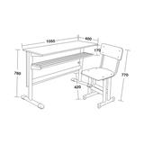 双人课桌椅 -FX-0148