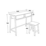 雙人課桌椅 -FX-0145