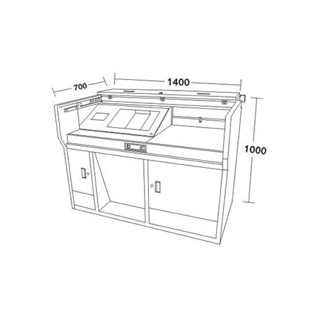 讲台/电脑桌系列-FX-3120