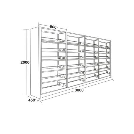 書架、期刊架係列-FX-5380