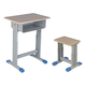 专利铁皮包边面课桌椅-FX-0120