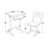 铝合金包边课桌椅 -FX-0280