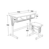 双人课桌椅 -FX-0118