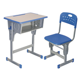 塑料包邊麵課桌椅 -FX-0090