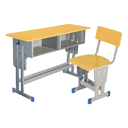 双人课桌椅-FX-0156