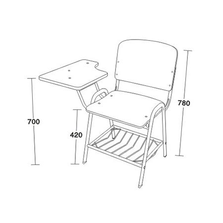 休閑培訓椅係列-FX-3110