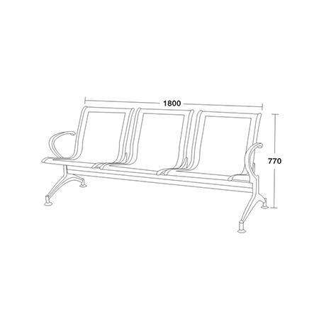 機場椅係列-FX-3350