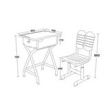 塑料新款课桌椅 -FX-0265