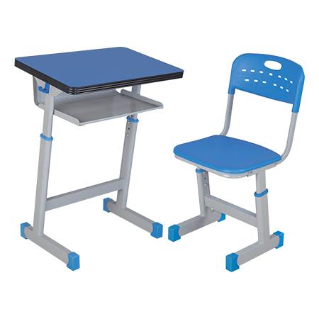 铝合金包边课桌椅-FX-0185