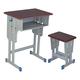 专利铁皮包边面课桌椅-FX-0116
