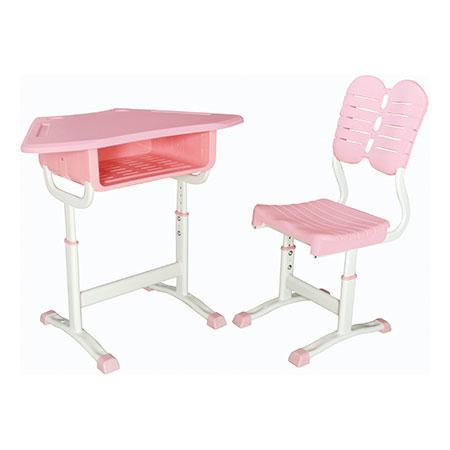 塑料新款课桌椅-FX-0275