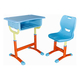 塑料新款课桌椅-FX-0375