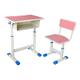 塑料包邊麵課桌椅-FX-0165