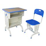 塑料包边面课桌椅 -FX-0145