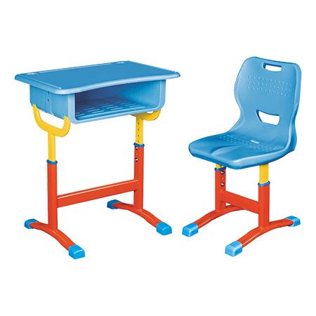铝合金包边课桌椅-FX-0269