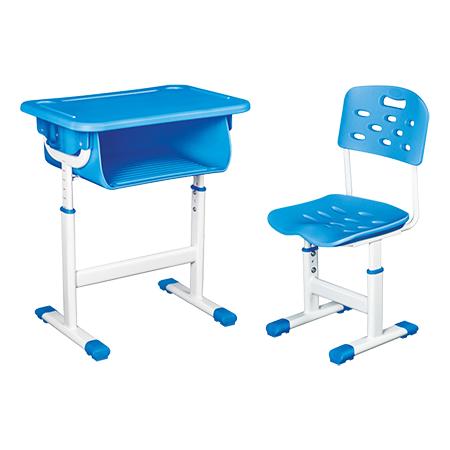 鋁合金包邊課桌椅-FX-0270
