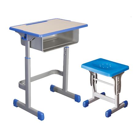 塑料包边面课桌椅-FX-0102
