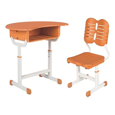 塑料新款课桌椅-FX-0268