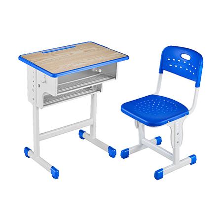 塑料包边面课桌椅-FX-0125