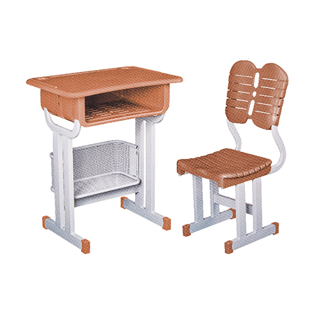 塑料新款课桌椅-FX-0300