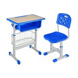 塑料包边面课桌椅 -FX-0165