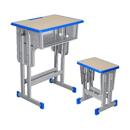 塑料包边面课桌椅-FX-0089