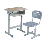 塑料包边面课桌椅 -FX-0160