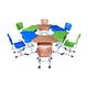 塑料新款課桌椅-FX-0288