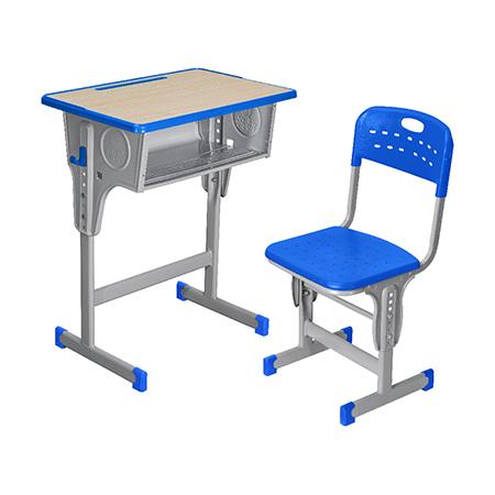 塑料包邊麵課桌椅-FX-0090