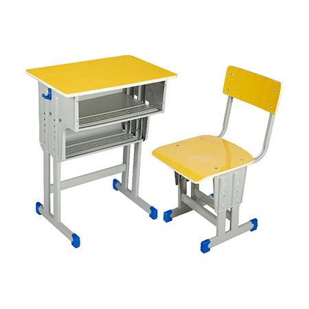多层板面课桌椅-FX-0088