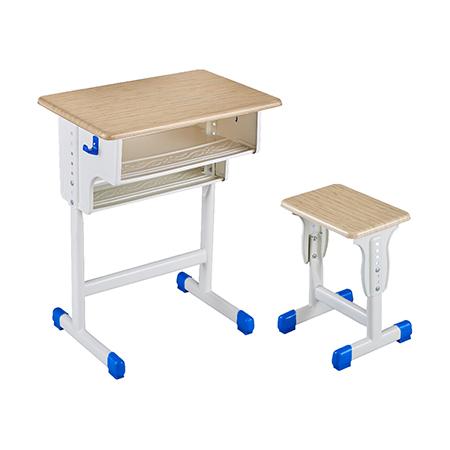塑料包邊麵課桌椅-FX-0119