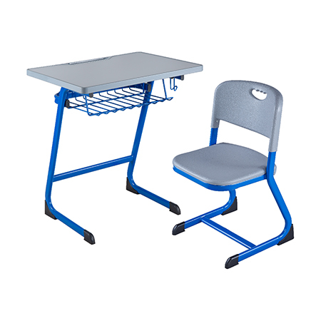 塑料包边面课桌椅-FX-0190