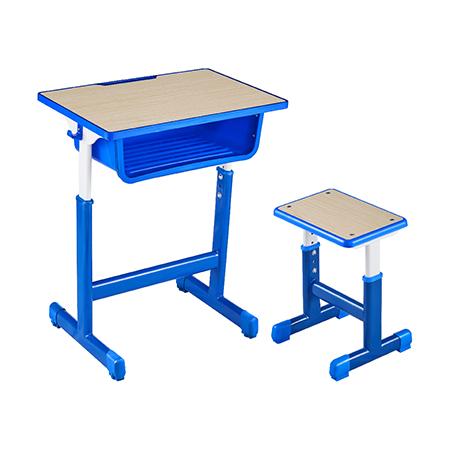 塑料包边面课桌椅-FX-0110