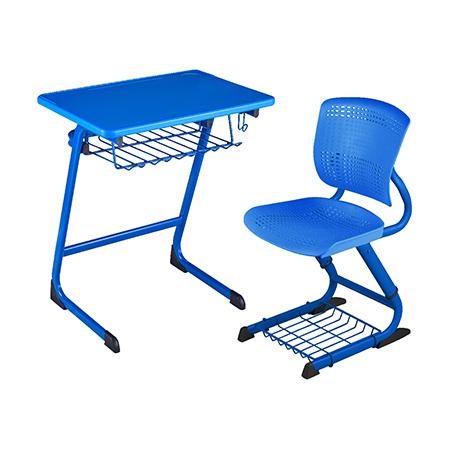 塑料新款课桌椅-FX-0255