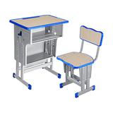 塑料包邊麵課桌椅 -FX-0128