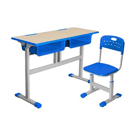 雙人課桌椅-FX-0235